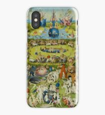 The Garden of Earthly Delights by Hieronymus Bosch iPhone Case/Skin