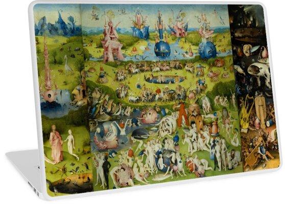 Der Garten der Lüste von Hieronymus Bosch von Vintage Designs