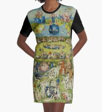 The Garden of Earthly Delights by Hieronymus Bosch Graphic T-Shirt Dress