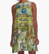 Der Garten der Lüste von Hieronymus Bosch A-Linien Kleid