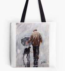 Well he is getting on a bit! Tote Bag