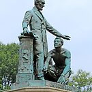Abraham Lincoln Freeing A Slave At The Emancipation Memorial -- 5 by Cora Wandel