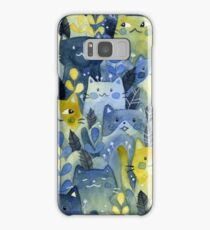 kitty forest Samsung Galaxy Case/Skin