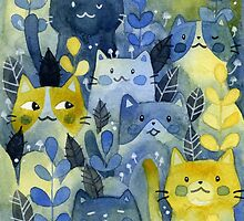kitty forest by Calista Douglas