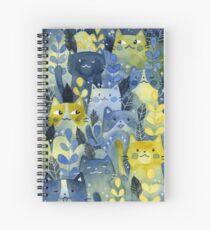 kitty forest Spiral Notebook
