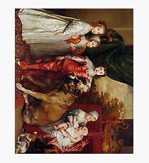 Five Eldest Children of Charles I 1637 Anthony Van Dyck Photographic Print