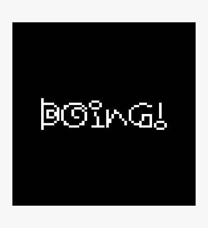 Boing! - Earthbound Photographic Print