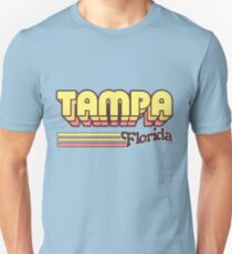 Tampa, FL | City Stripes Unisex T-Shirt