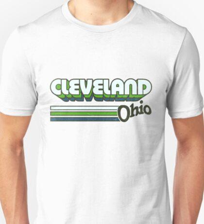 Cleveland, OH   City Stripes T-Shirt
