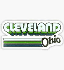 Cleveland, OH | City Stripes Sticker