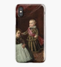 Don Baltasar Carlos with a Dwarf 1632 Diego Velázquez iPhone Case/Skin