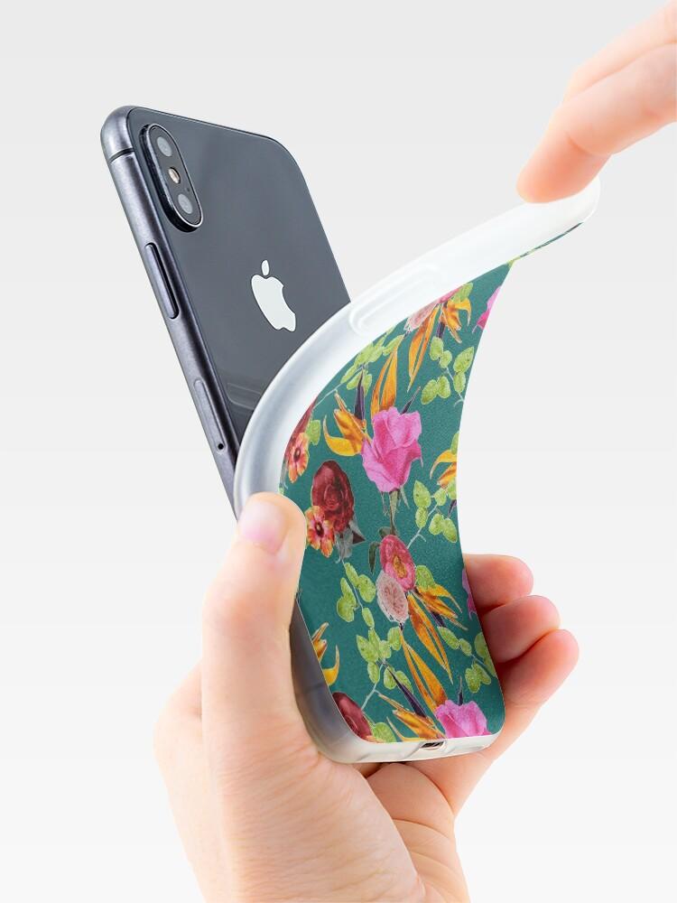 Vista alternativa de Funda y vinilo para iPhone Chaman Garden (verde)