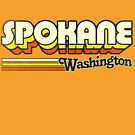 Spokane, WA | City Stripes by retroready