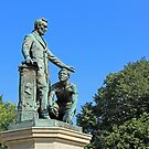 Abraham Lincoln Freeing A Slave At The Emancipation Memorial -- 1 by Cora Wandel
