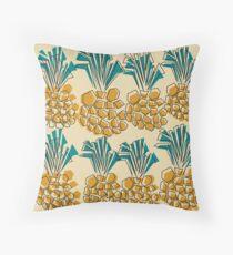 pineapple summer Throw Pillow
