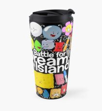 BFDI Poster Black Travel Mug