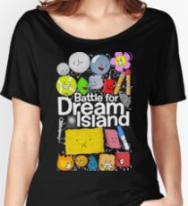 BFDI Poster Black Women's Relaxed Fit T-Shirt
