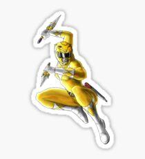 Trini - The Yellow Mighty Morphin Power Ranger Sticker