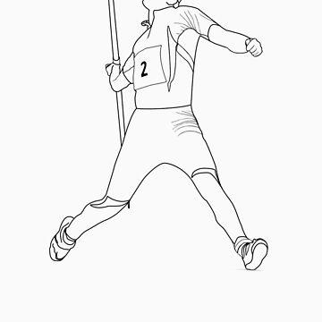 javelin thrower by Ukenny