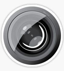 Lens camera Sticker