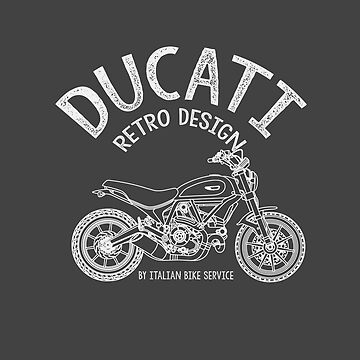Ducati Scrambler retro design by sirchio23