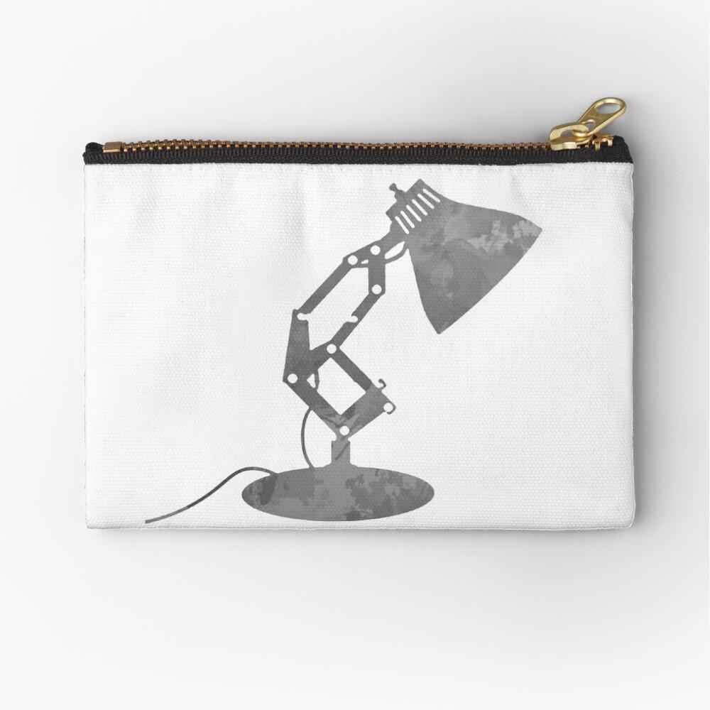 Lampe inspiriert Silhouette Täschchen