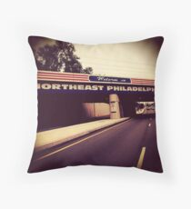 Welcome to Northeast Philly Throw Pillow