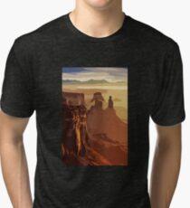 Grand Canyon - USA Tri-blend T-Shirt