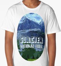Montana Glacier National Park Long T-Shirt