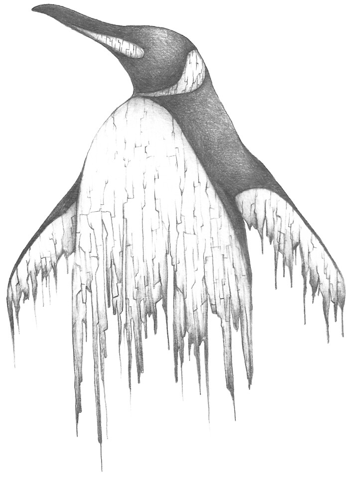 Digital Penguin  by EvijaOga