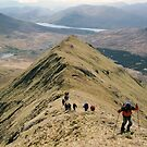 Climbing Mweelrea by John Quinn