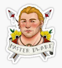 Master Dwarf Sticker