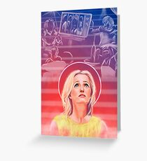 Gillian Anderson - 1968 - US Characters Greeting Card