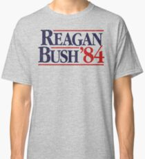 Reagan/Bush '84 Classic T-Shirt