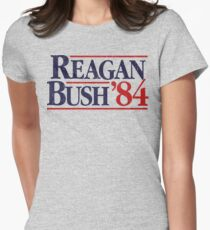 Reagan/Bush '84 Women's Fitted T-Shirt