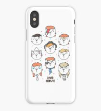 The 9 Lives of David Meowie iPhone Case/Skin