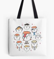 The 9 Lives of David Meowie Tote Bag