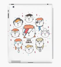 The 9 Lives of David Meowie iPad Case/Skin