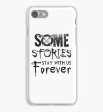 Buffy The Slayer. Some Stories... iPhone Case/Skin