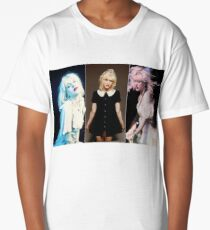 Courtney triptych  Long T-Shirt