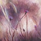 Field Impressions 1: Thistles & Meadow Brome (card only) by Tanja Udelhofen