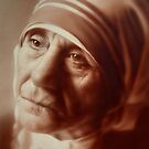 Mother Teresa by marcelfineart