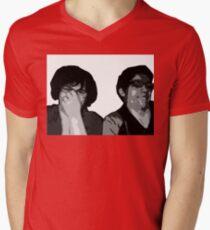 The Recliner Cast Logo! Mens V-Neck T-Shirt