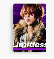 NCT 127 LIMITLESS JOHNNY Canvas Print