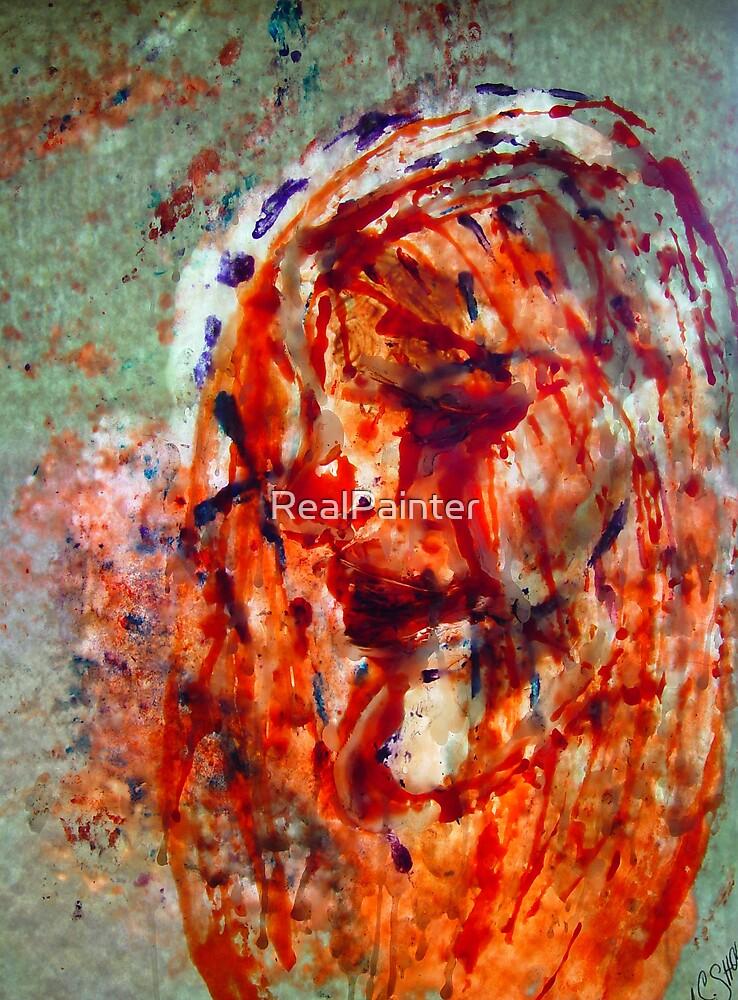 Jesus ( Wax artWork) by RealPainter