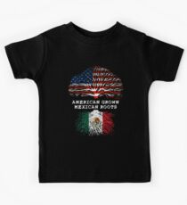 American Grown Mexican Roots Kids Clothes