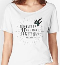One More Light: Chester Bennington Tribute Women's Relaxed Fit T-Shirt