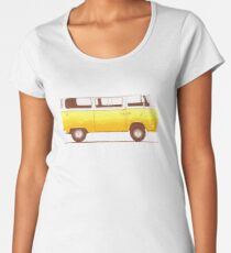 Yellow Van Women's Premium T-Shirt
