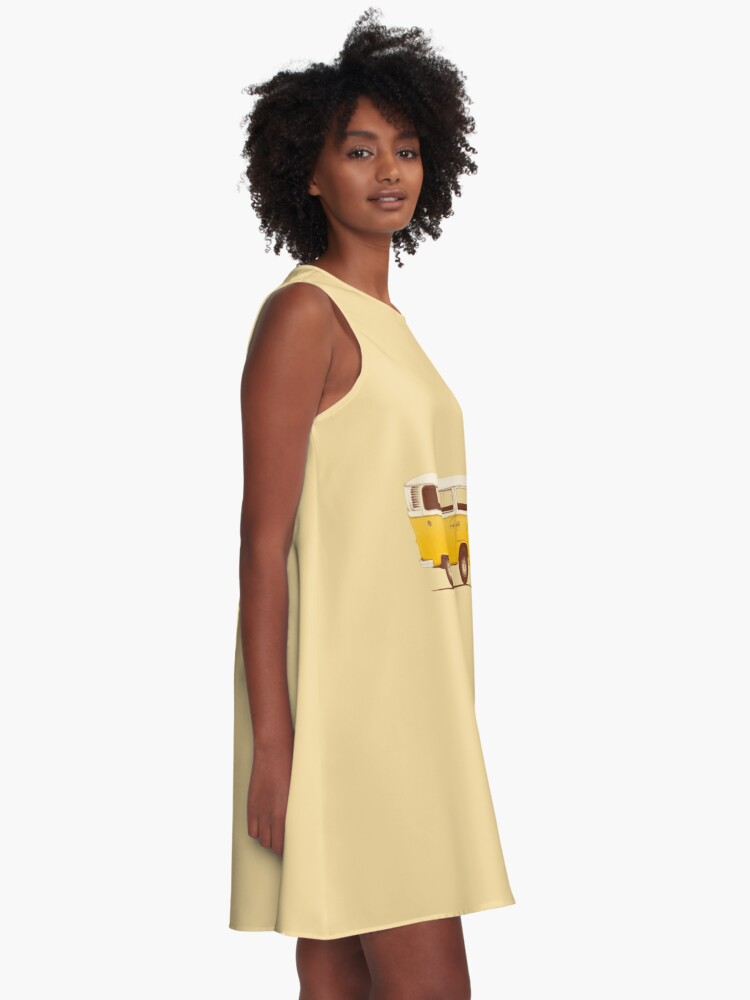 Alternate view of Yellow Van A-Line Dress