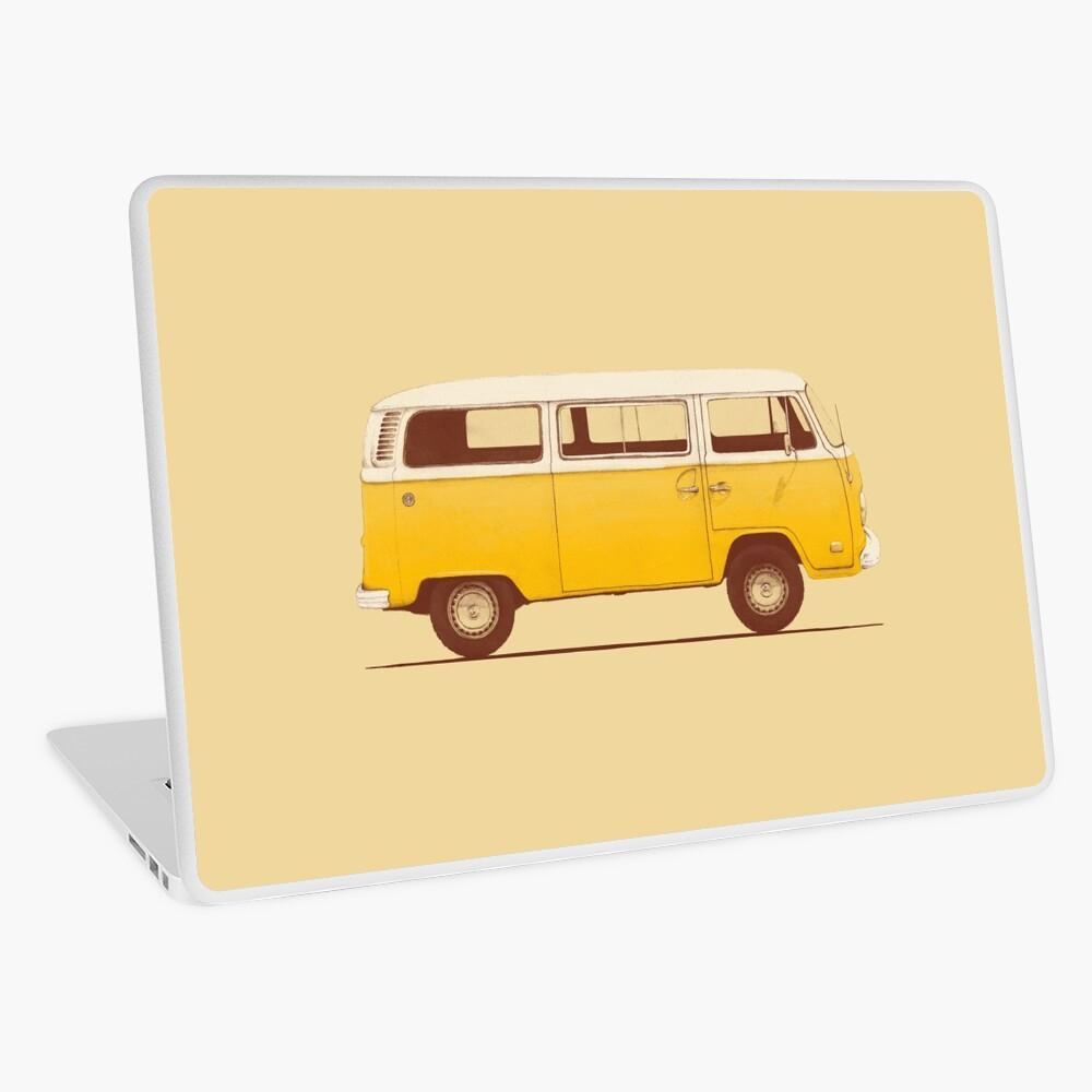 Yellow Van Laptop Skin